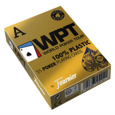 Baralho FOURNIER WPT Gold Edition Poker Jumbo 55ct Azul