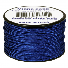 Microcord Cor Sólida 1,18mm rolo com 37,5m - Azul Royal