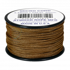 Microcord Cor Sólida 1,18Mm Rolo Com 37,5M - Coyote Brown