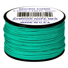Microcord Cor Sólida 1,18mm rolo com 37,5m - Teal