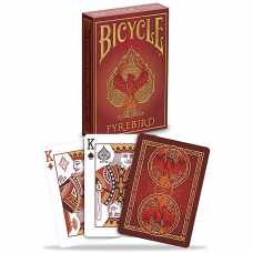 Baralho Bicycle Fyrebird - Premium Deck