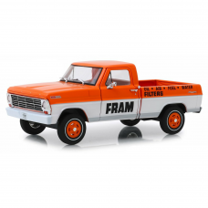 Ford F-100 Fram Oil Filters Running On Empty 1/24 Laranja