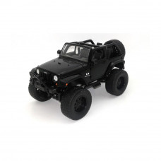 Miniatura  Jeep Wrangler 2007 off-road 1/24 preto