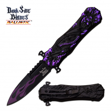 Canivete Dark Side Blades by Master Cutlery abertura assistida DS-A049PE