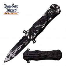 Canivete Dark Side Blades by Master Cutlery abertura assistida DS-A049SL