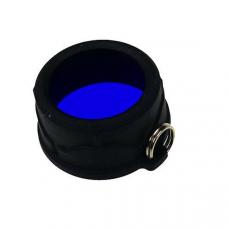 Filtro azul para lanterna