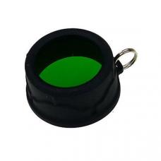 Filtro verde para lanterna