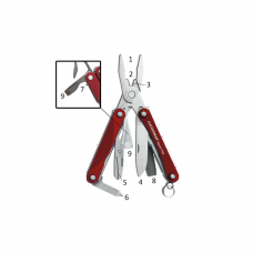 Alicate Vermelho Leatherman Squirt PS4
