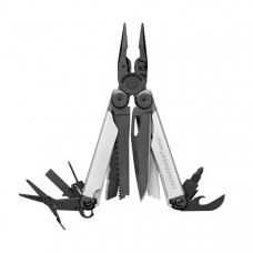 Alicate Leatherman Wave+ preto e prata