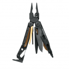 Alicate Leatherman MUT Black com bainha MOLLE Tan