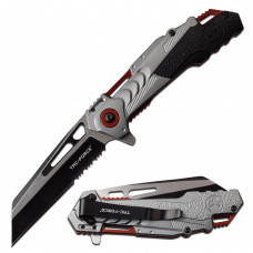 Canivete Tac Force by Master Cutlery abertura assistida TF-1012RGY