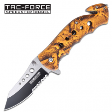Canivete corta cinto Tac Force by Master Cutlery abertura assistida TF-498OC