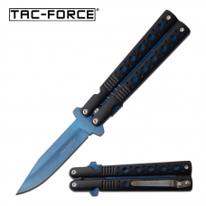 Canivete Tac Force by Master Cutlery abertura assistida cabo imitando butterfly TF-528BL