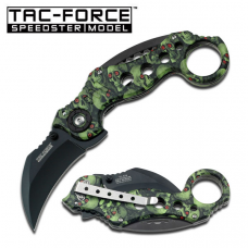 Canivete karambit Tac Force by Master Cutlery abertura assistida TF-578GNSC