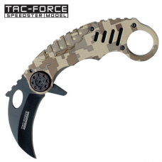 Canivete karambit Tac Force by Master Cutlery abertura assistida TF-620DM