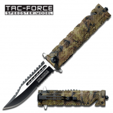 Canivete de resgate Tac Force by Master Cutlery abertura assistida TF-710JC