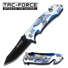 Canivete Tac Force by Master Cutlery abertura assistida TF-806BL