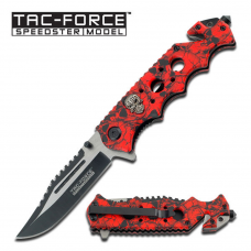 Canivete Tac Force by Master Cutlery abertura assistida TF-809RD