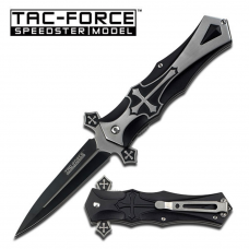 Canivete Tac Force by Master Cutlery abertura assistida TF-817BK