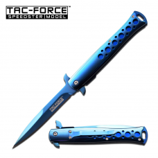 Canivete stiletto Tac Force by Master Cutlery abertura assistida TF-884BL
