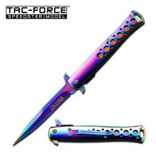 Canivete stiletto Tac Force by Master Cutlery abertura assistida TF-884RB