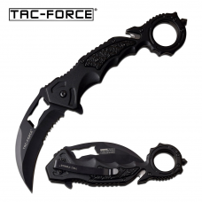Canivete karambit Tac Force by Master Cutlery abertura assistida TF-972BK